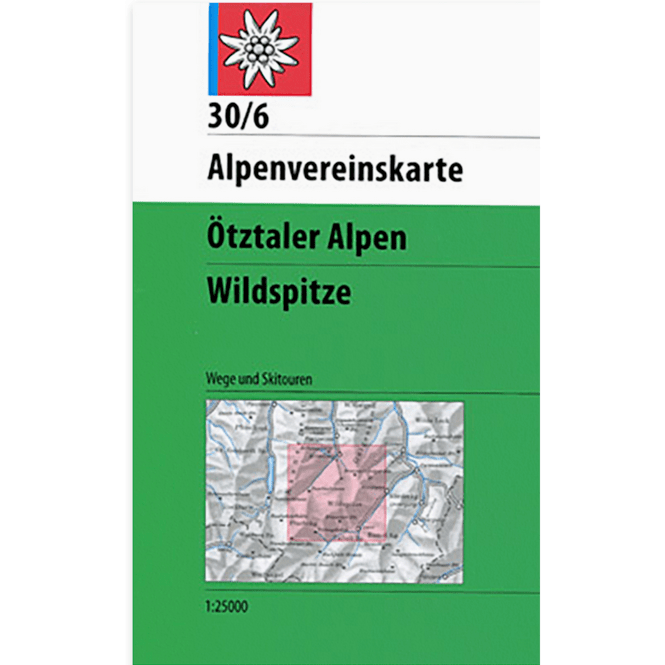 DAV AV-Karte 30/6 - Ötztaler Alpen, Wildspitze