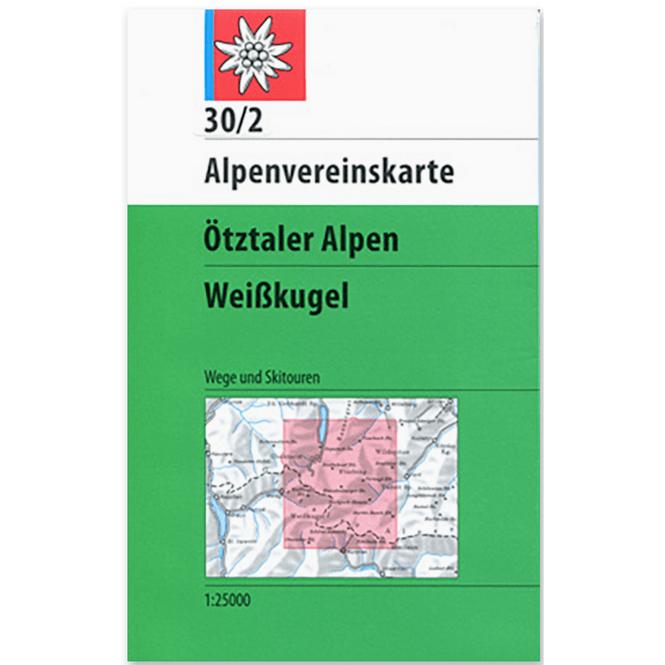 DAV AV-Karte 30/2 - Ötztaler Alpen, Weißkugel