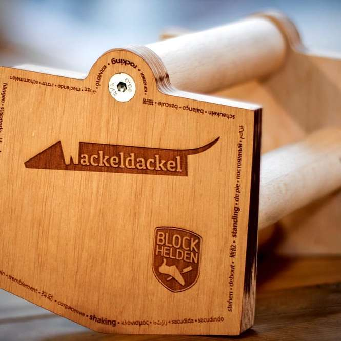 Blockhelden Wackeldackel Set