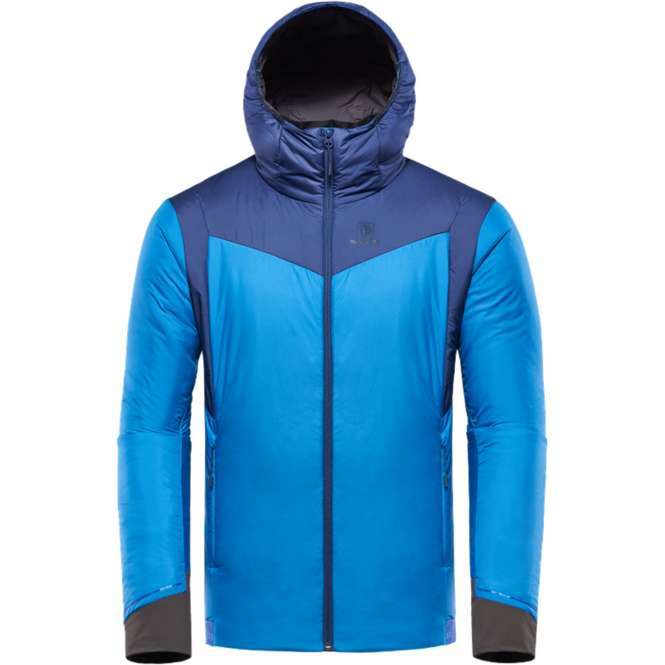 Black Yak Calvana Hoody Men - snorkel blue | M