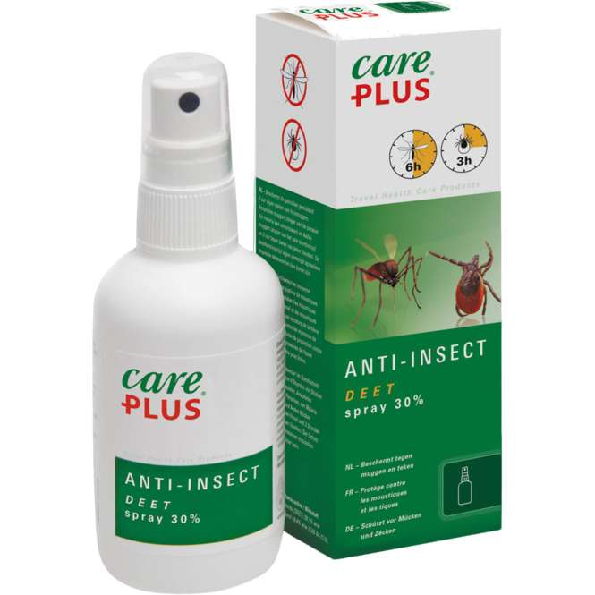 Care Plus Anti-Insect DEET 30% Spray 100 ml