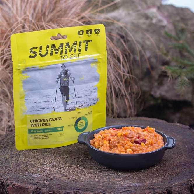 Summit to Eat Huhn Fajita mit Reis