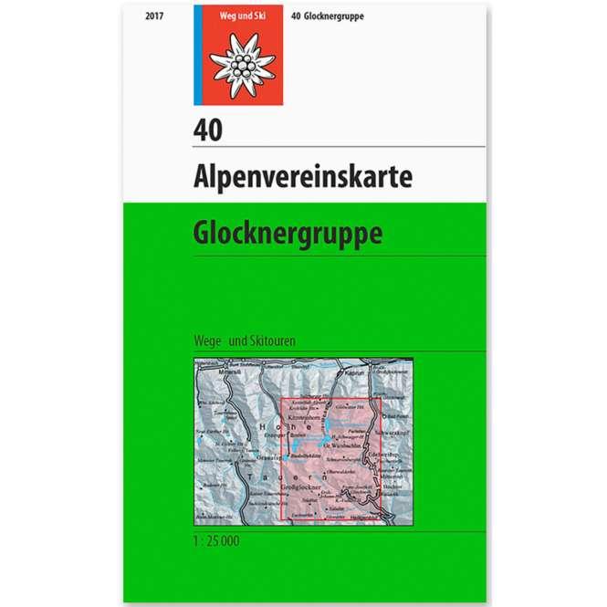DAV AV Karte 40 - Glocknergruppe