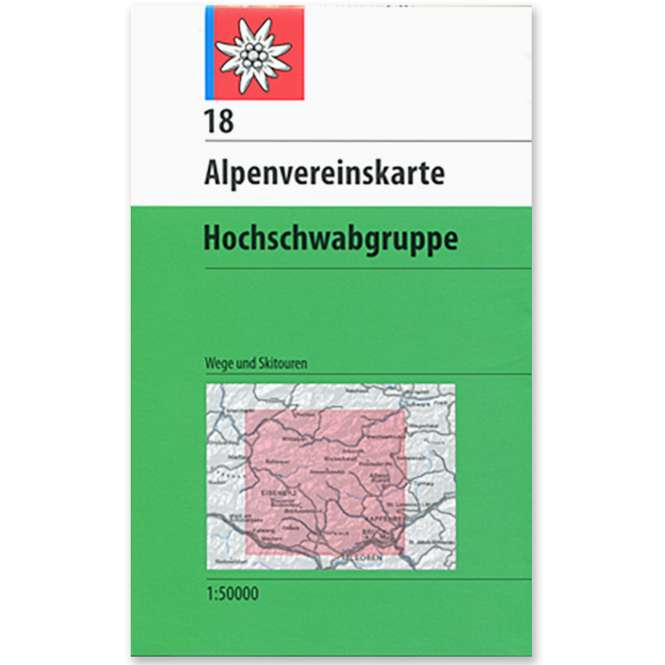 DAV AV Karte 18 - Hochschwabgruppe