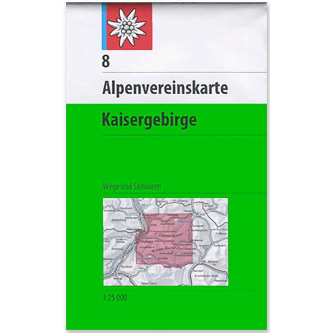 DAV AV-Karte 8 - Kaisergebirge