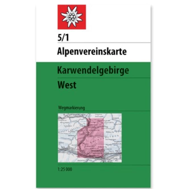 DAV AV-Karte 5/1 Karwendelgebirge West
