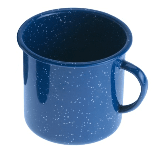 GSI Outdoors Emaille Tasse - blau | 530 ml