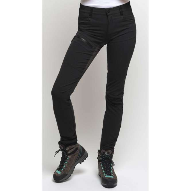 Looking for Wild F208 - Trekkinghose Damen - black | M