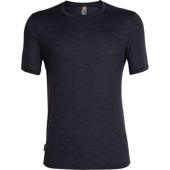 Icebreaker Cool-Lite Sphere Short Sleeve Crewe Herren Shirt Merino-Wolle kühlt