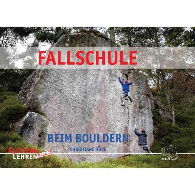 Geoquest Fallschule beim Bouldern