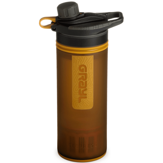 Grayl Geopress Wasserfilter - coyote-amber
