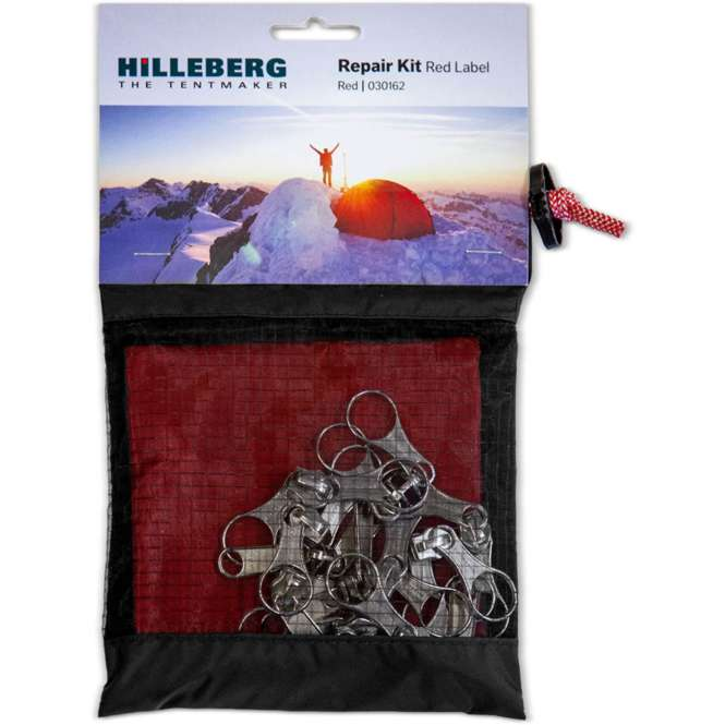 Hilleberg Reparaturset Red Label - rot