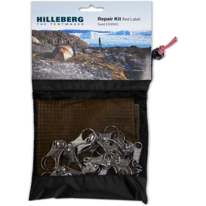 Hilleberg Reparaturset Red Label - sand