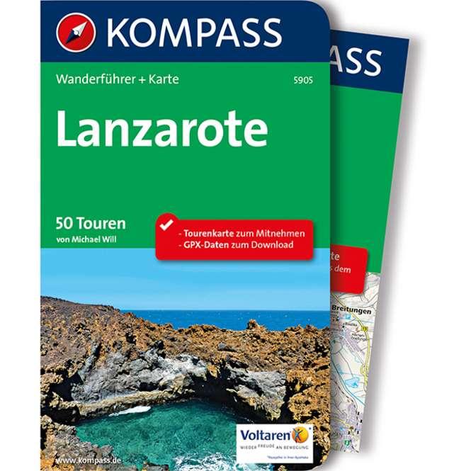 Kompass-Verlag Wanderführer Lanzarote
