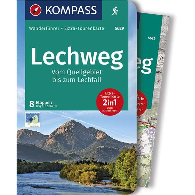 Kompass-Verlag Wanderführer Lechweg