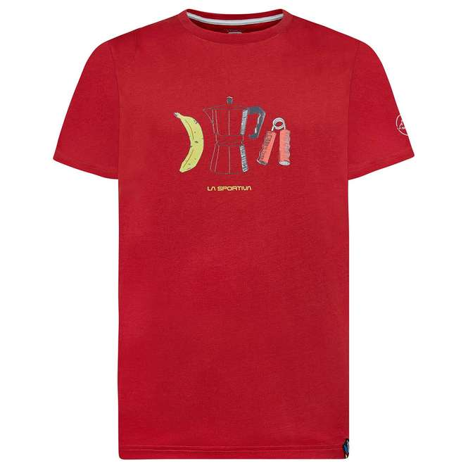 La Sportiva Breakfast T-Shirt - chilli | S