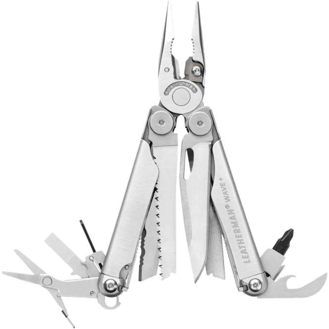 Leatherman Wave Plus - silber