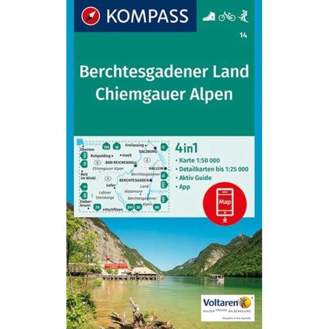 Kompass-Verlag WK Berchtesgadener Land,Chiemgauer A.