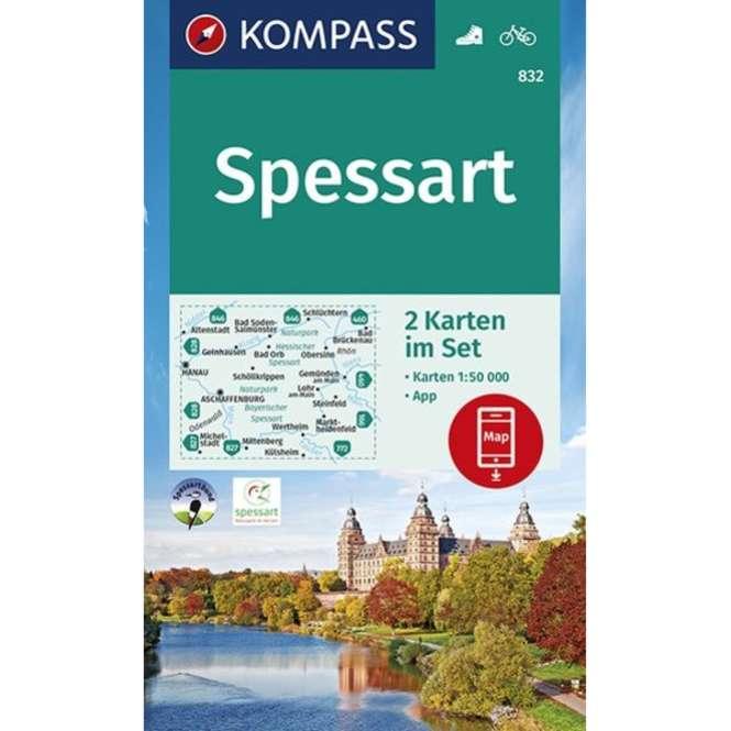 Kompass-Verlag WK Spessart