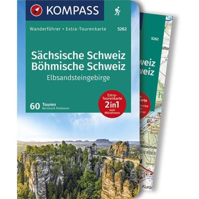 Kompass-Verlag WF Sächsische-,Böhmische Schweiz Elbsand