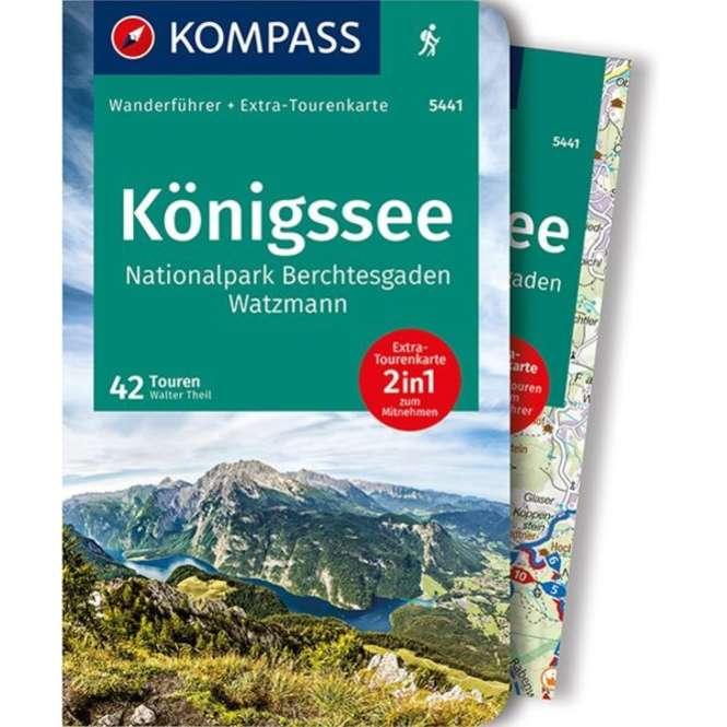Kompass-Verlag WF Königssee NP Berchtesgadenen