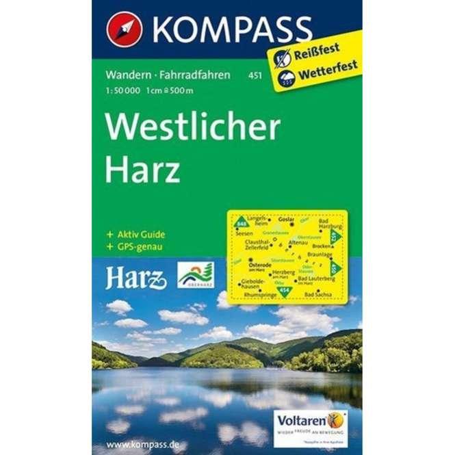 Kompass-Verlag WK Westlicher Harz