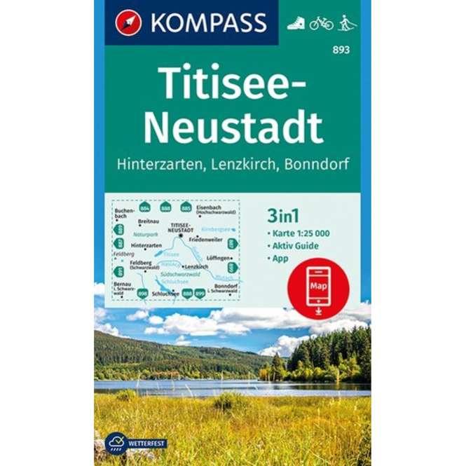 Kompass-Verlag WK Titisee-Neustadt