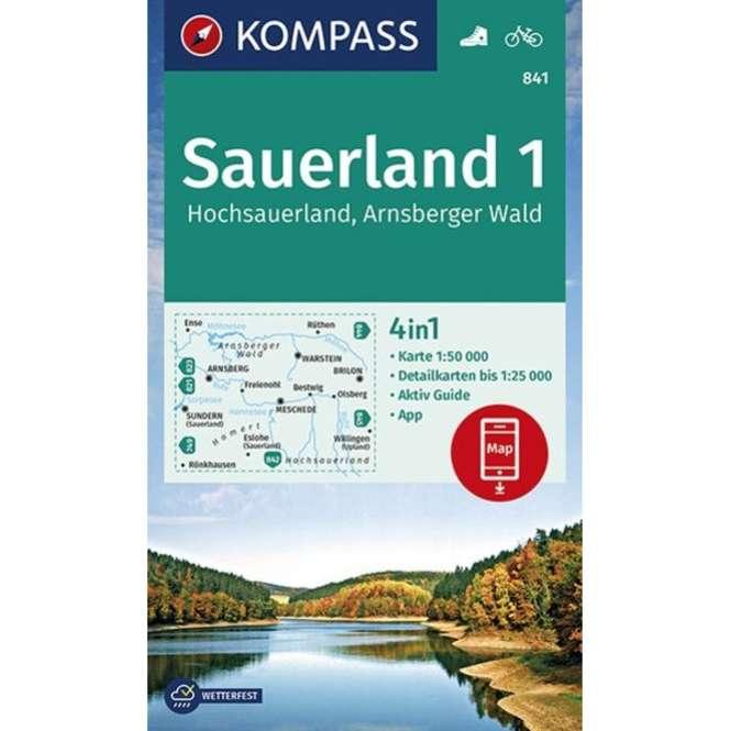 Kompass-Verlag WK Hochsauerland,Arnsberger Wald