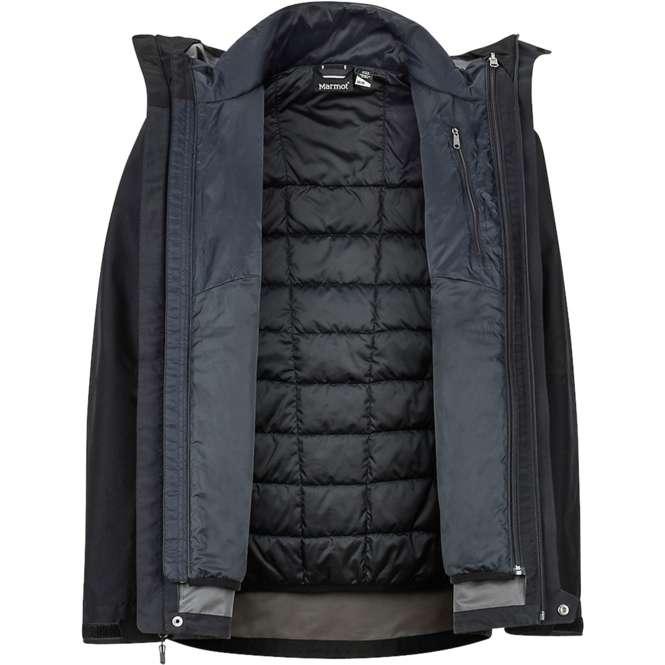 Marmot Minimalist Component 3-in-1 Jacket - black   S