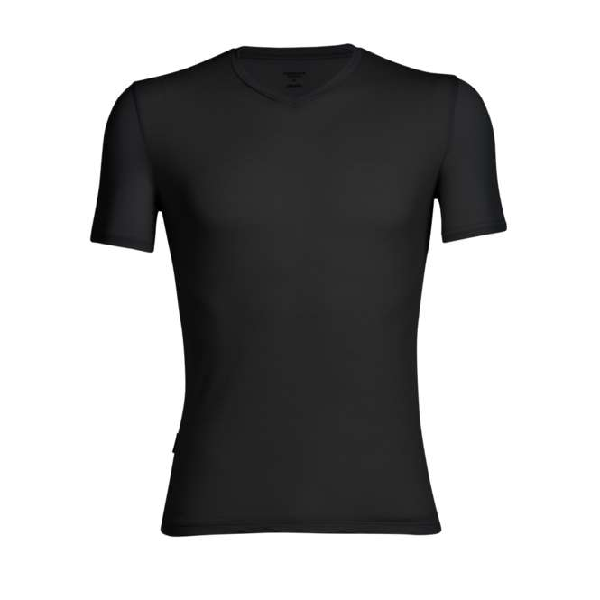 Icebreaker Anatomica SS V Men - black | XL