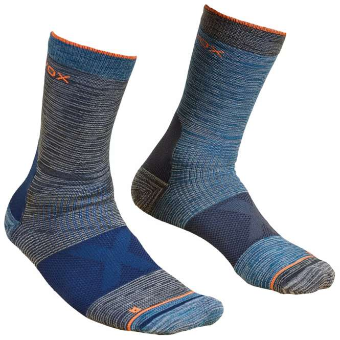 Ortovox Alpinist Mid Socks Men - dark grey | 42/44