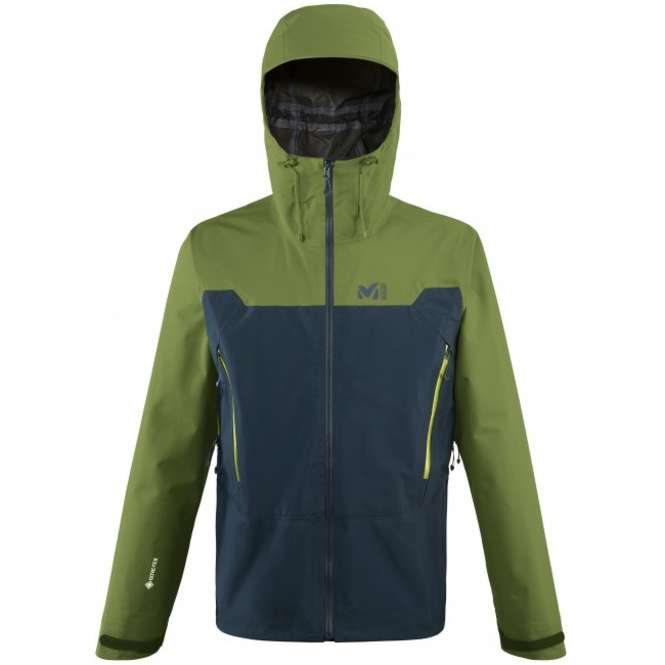 Millet Kamet Light GTX Jacket Men - orion blue/fern | S