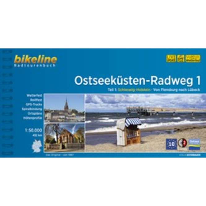 bikeline Ostseeküsten Radweg 1