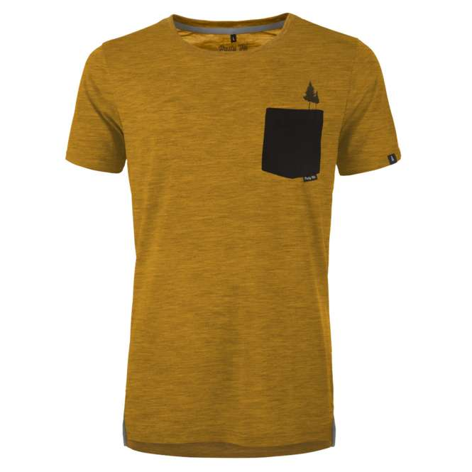 Pally 'Hi Pocket Tree T-Shirt - heater sundance | XL