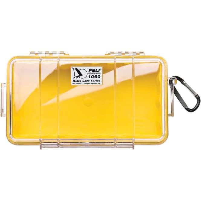 Peli Peli Microcase 1060 gelb