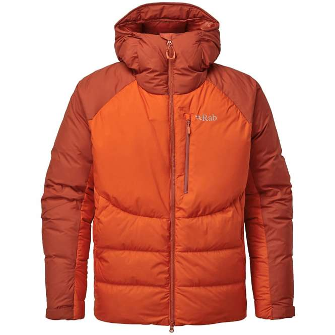 Rab Infinity Jacket - red clay/firecracker | M