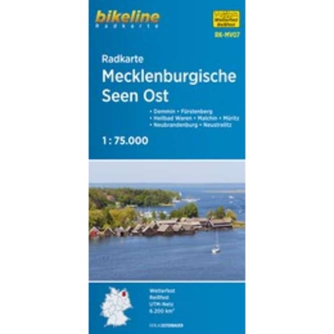 bikeline Mecklenburgische Seen Ost