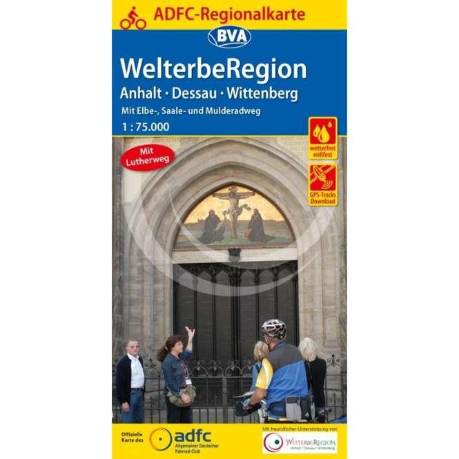 BVA BikeMedia Anhalt / Dessau / Wittenberg Fahrradkarte