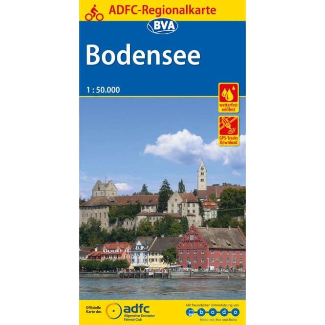 BVA BikeMedia Bodensee Fahrradkarte