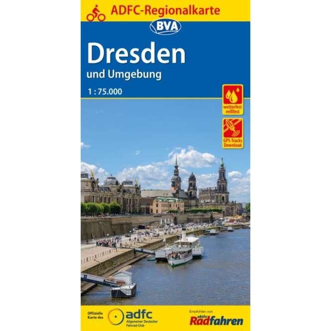 BVA BikeMedia Dresden und Umgebung Fahrradkarte