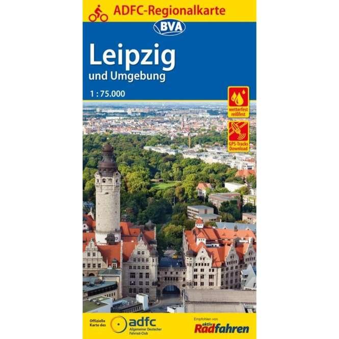 BVA BikeMedia Leipzig und Umgebung Fahrradkarte