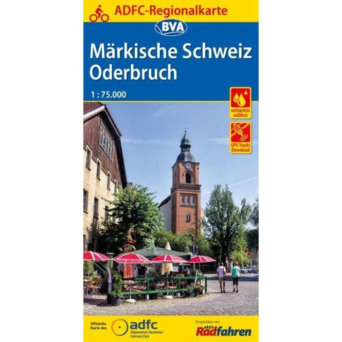 BVA BikeMedia Märkische Schweiz / Oderbruch Fahrradkarte