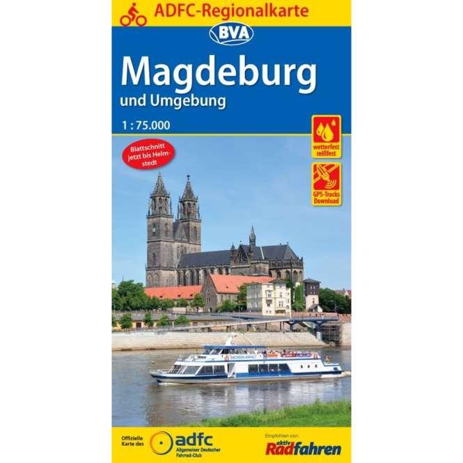 BVA BikeMedia Magdeburg und Umgebung Fahrradkarte