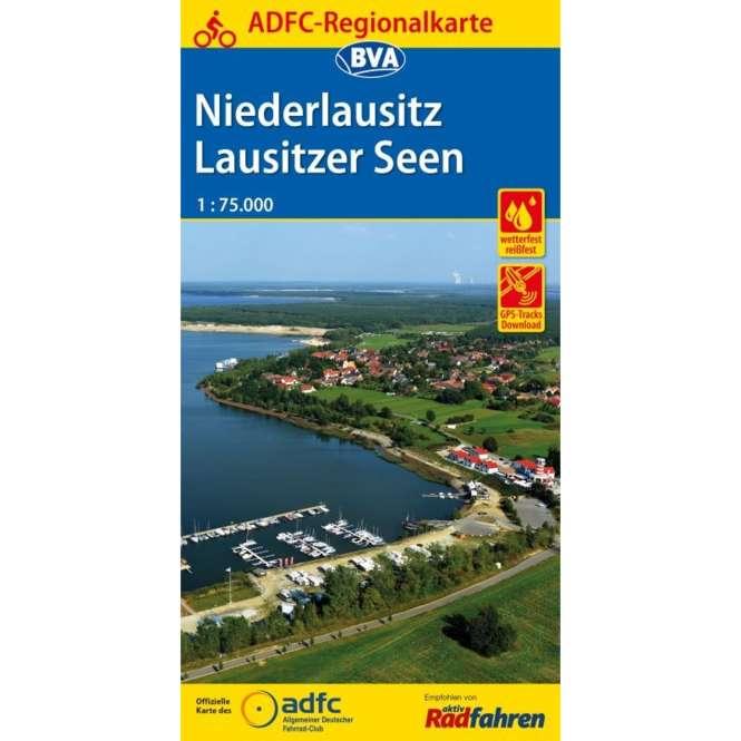 BVA BikeMedia Niederlausitz / Lausitzer Seen Fahrradkarte