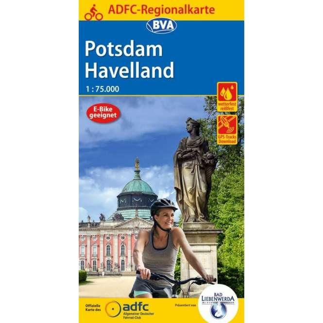 BVA BikeMedia Potsdam / Havelland Fahrradkarte, Auflage 2020