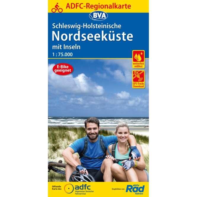 BVA BikeMedia ADFC Regionalkarte Schleswig Holstein