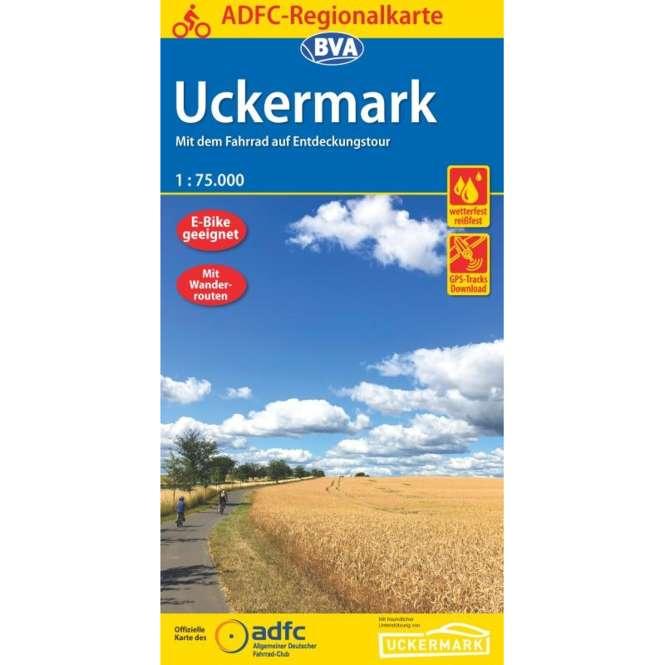 BVA BikeMedia Uckermark Fahrradkarte