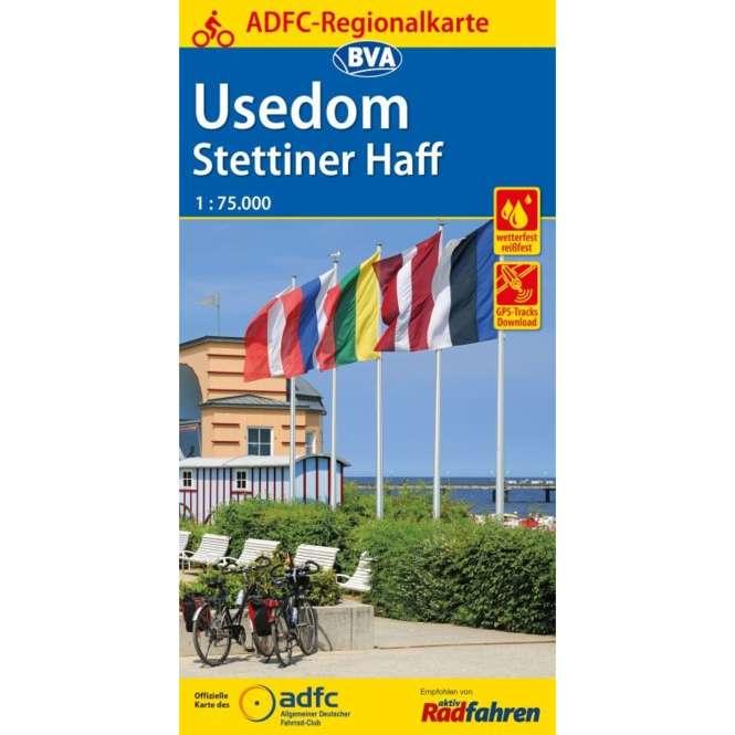 BVA BikeMedia Usedom / Stettiner Haff Fahrradkarte