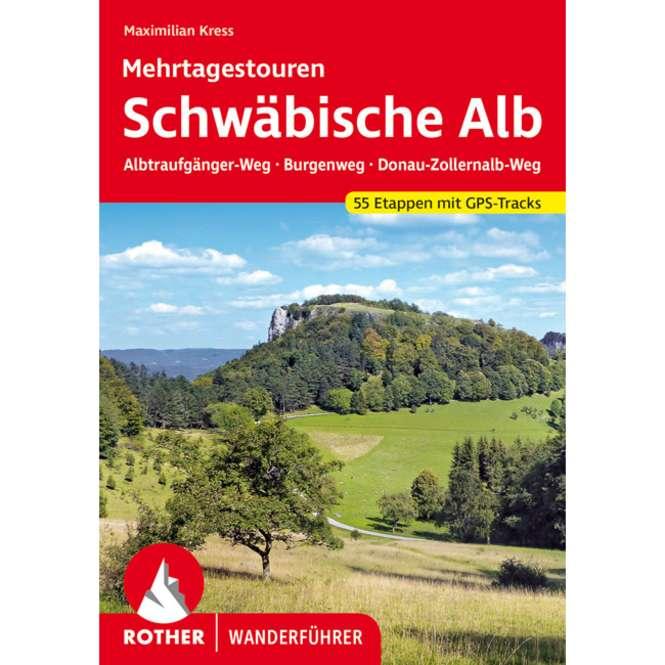 Bergverlag Rother Schwäbische Alb Mehrtagetouren
