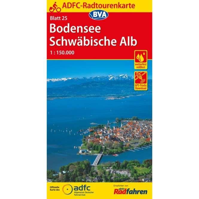 BVA BikeMedia Bodensee / Schwäbische Alb Fahrradkarte